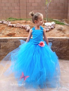 turquoise-2pc-flower-girl-tutu-dress